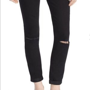 Jessica Simpson Distressed Maternity Jeans